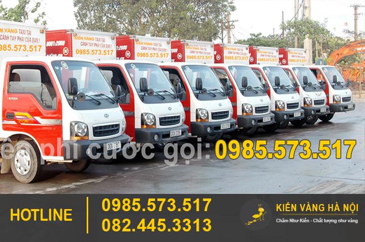 Hệ thống Xe tải vẩn chuyển đồ đạc nhà cửa bởi Kiến Vàng Hà Nội